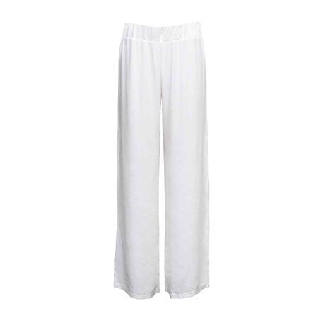 Calça Cós Elástico Off White