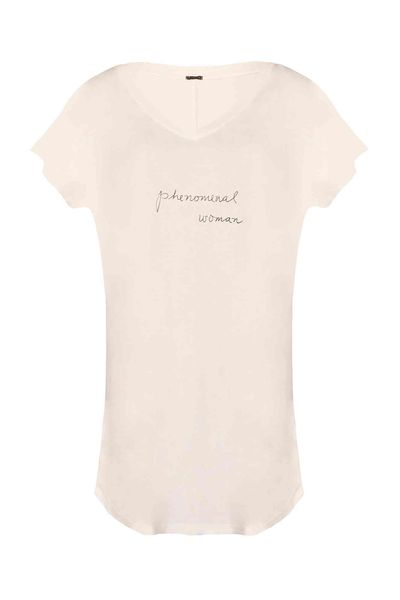 Camisetão Off White Phenomenal Woman M / M - OFF WHITE