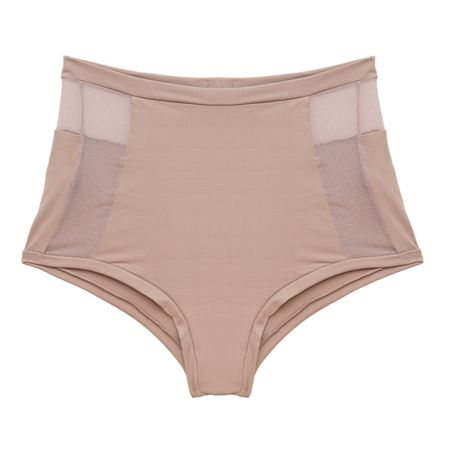 Calcinha Hot Pants Tech Pro Tule Chocolate