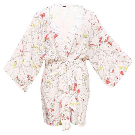 Kimono Longo E. Rabiscos Santes