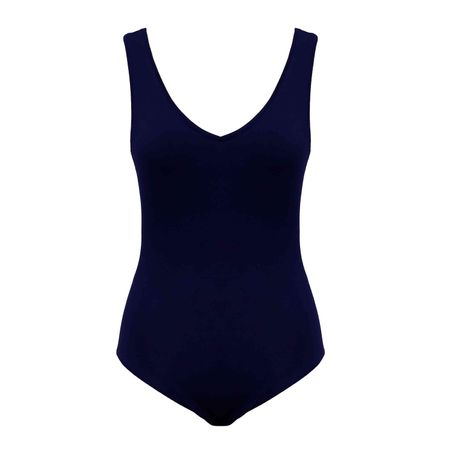 Body Basic Azul Marinho
