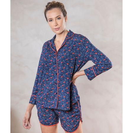 Pijama Curto Camisa E. Tulum