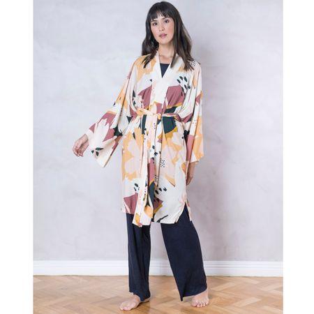 Kimono Longo E. Paraíso Santes