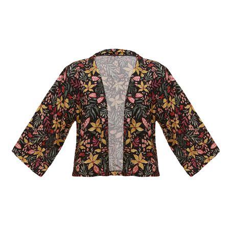 Kimono Curto E. Dahlia Santes