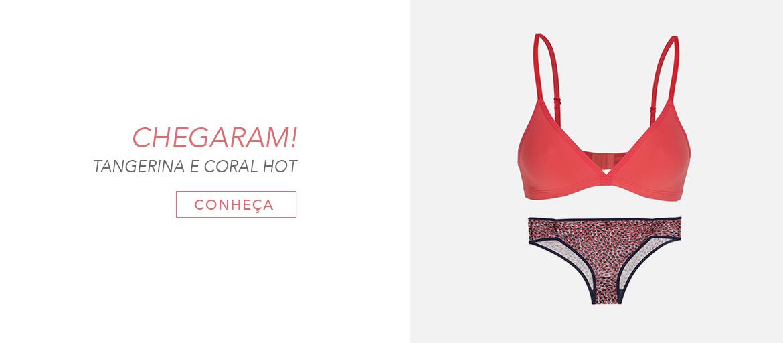 Tangerina + Coral Hot