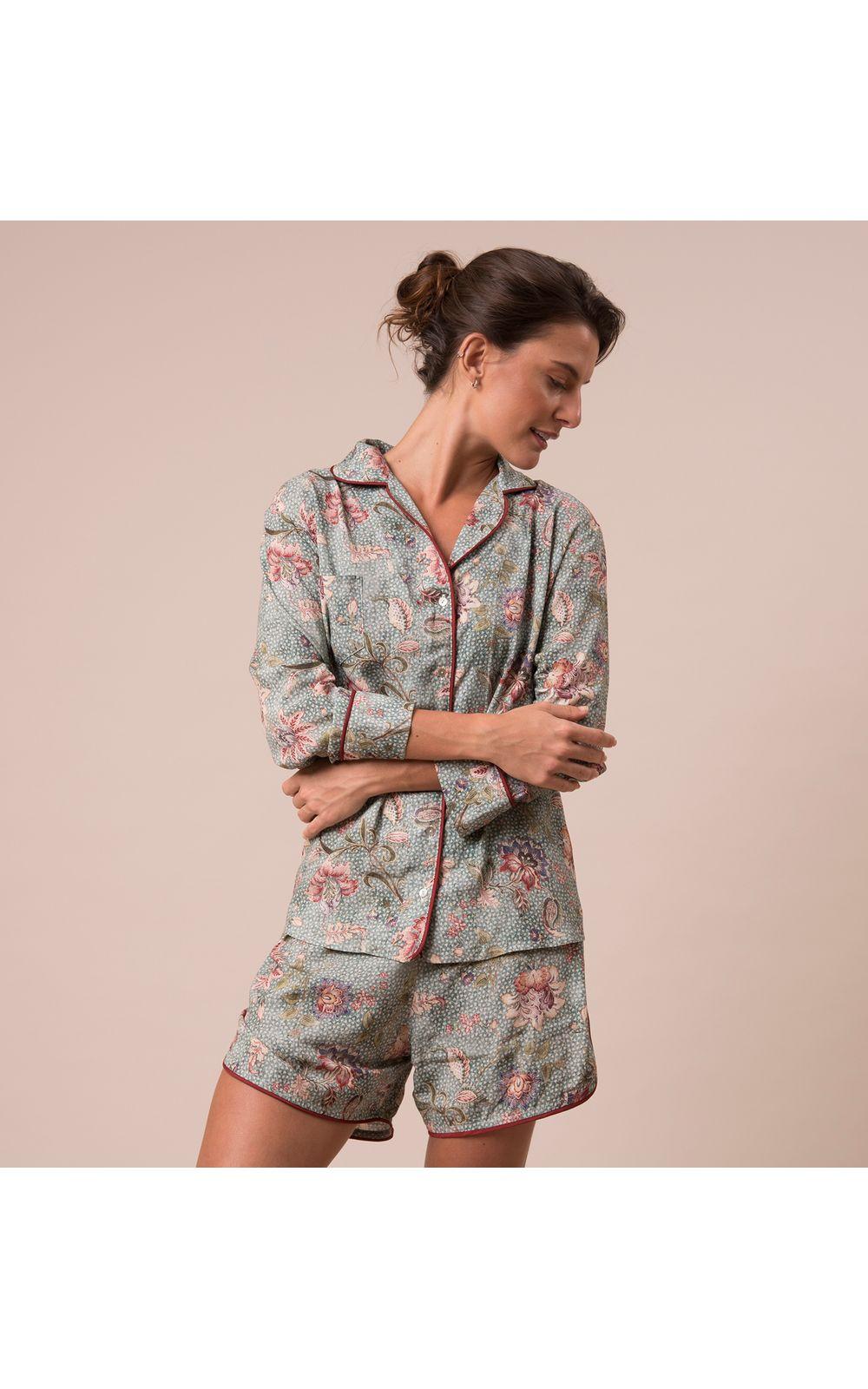 Foto 1 - Pijama Curto Camisa E. Fiore Santes