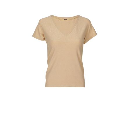 T-Shirt Lurex Dourada Carnaval