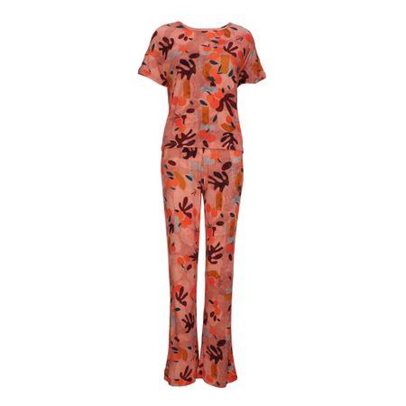 Pijama Longo E. Caterine Tricot