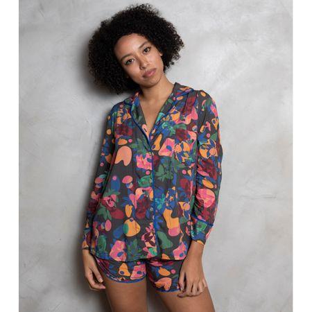 Pijama Curto Camisa E. Tarsila Santes