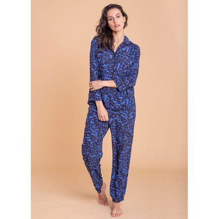 Pijama Longo E. Olivia Santes